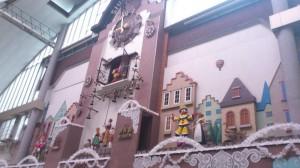 Strange Europen clock