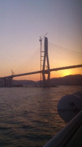Arriving in Busan