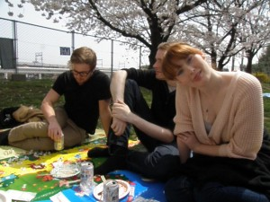 Hanami party